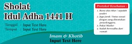 Banner Idul Adha