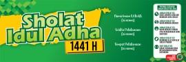Banner Sholat idul Adha